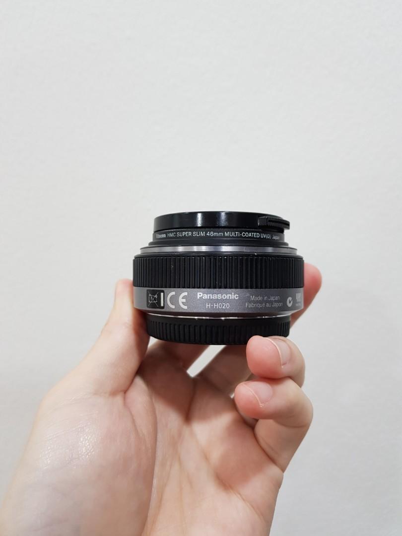 Panasonic 20mm f1.7 i (Mk1)