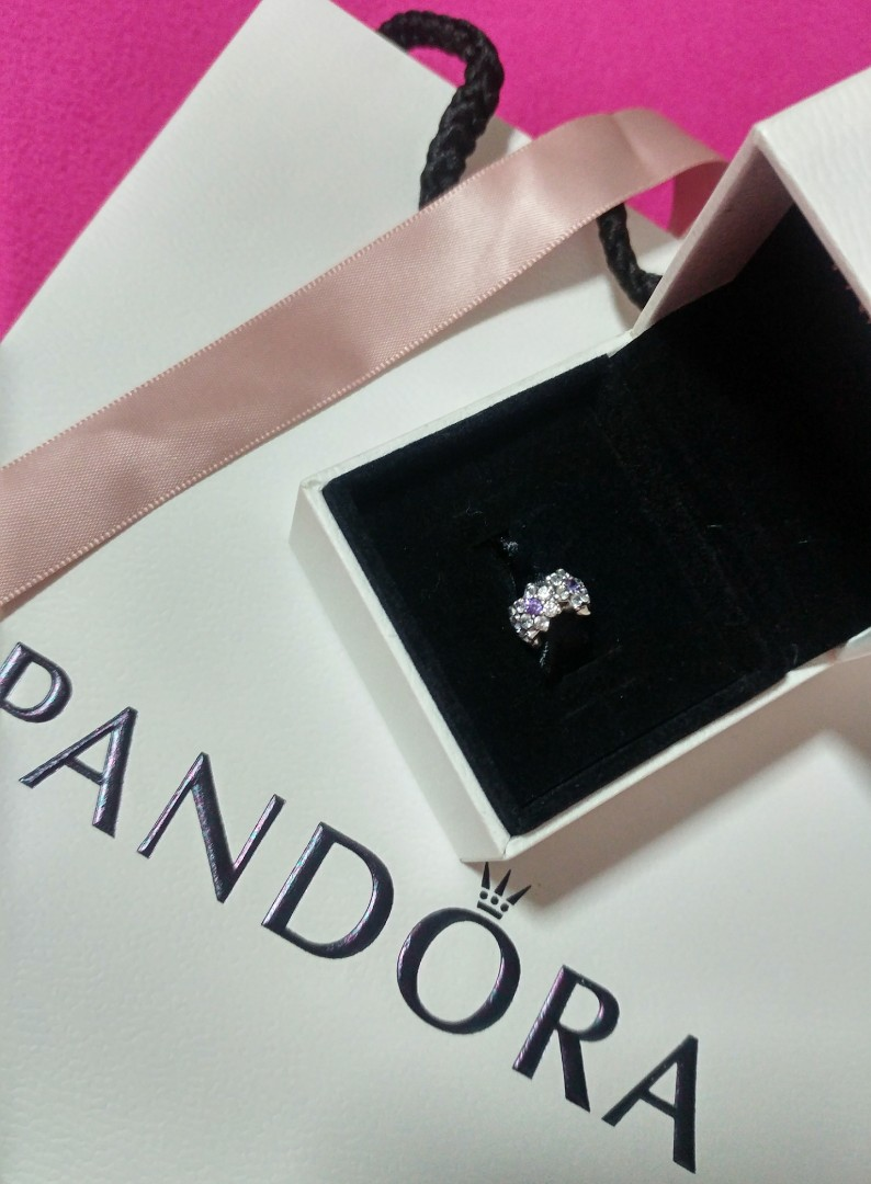 619ad023b Pandora Forget me not Spacer, Women's Fashion, Jewellery, Others on  Carousell