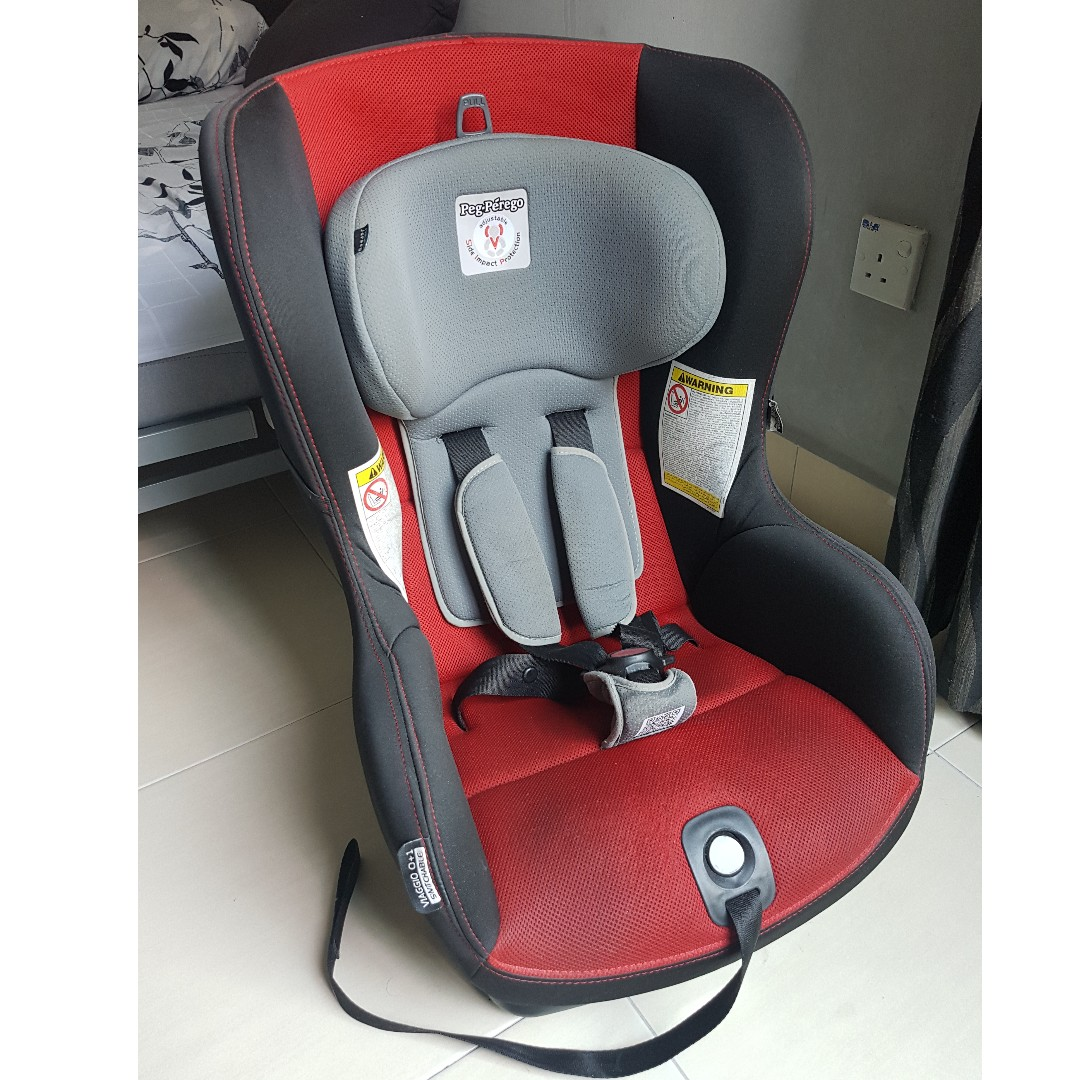 Peg Perego Viaggio 0 1 Switchable Car Seat 0 To 5 Yrs Very Good