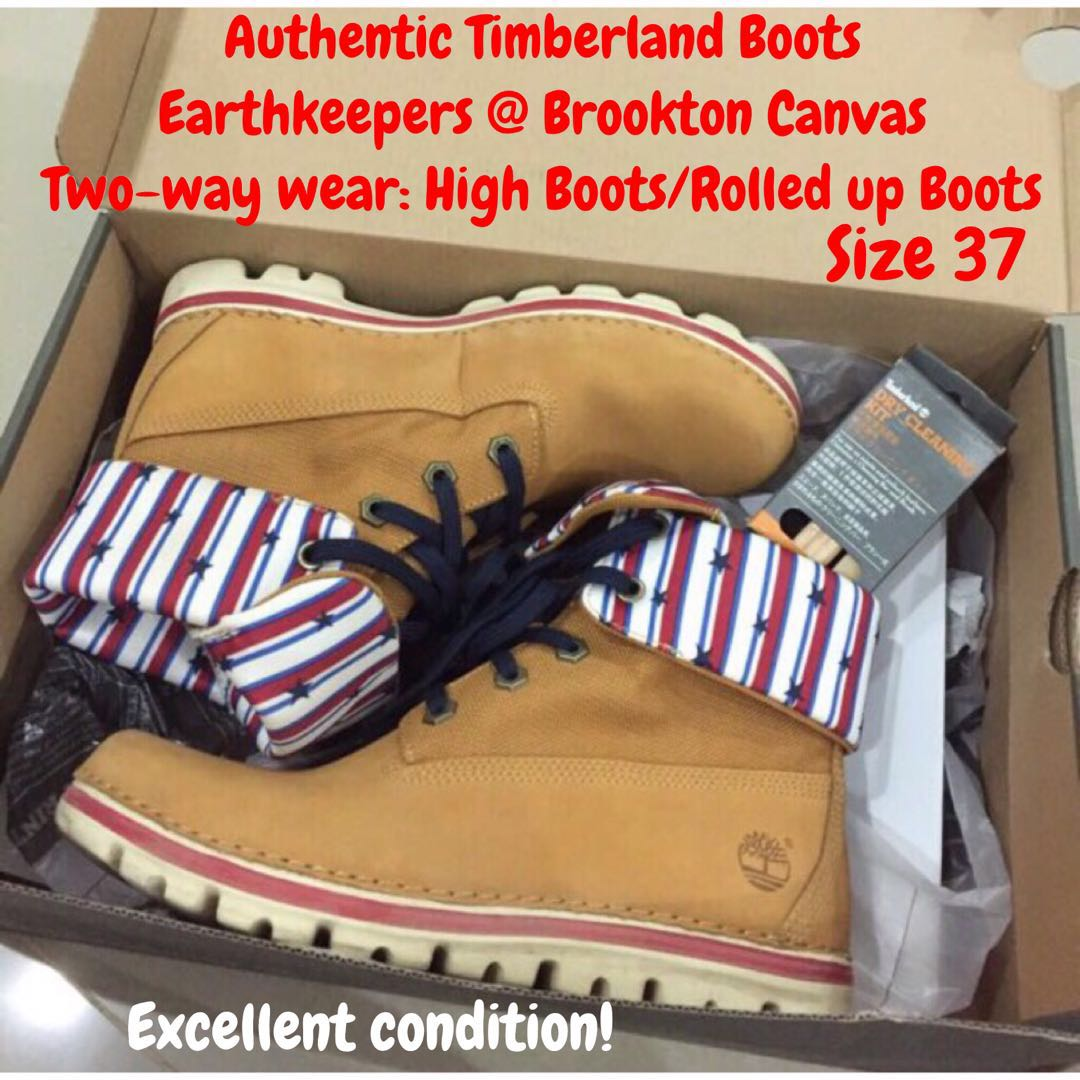 53d8b9c8f5e Preloved-Worn once  Authentic Timberland boots  Earthkeeper ...