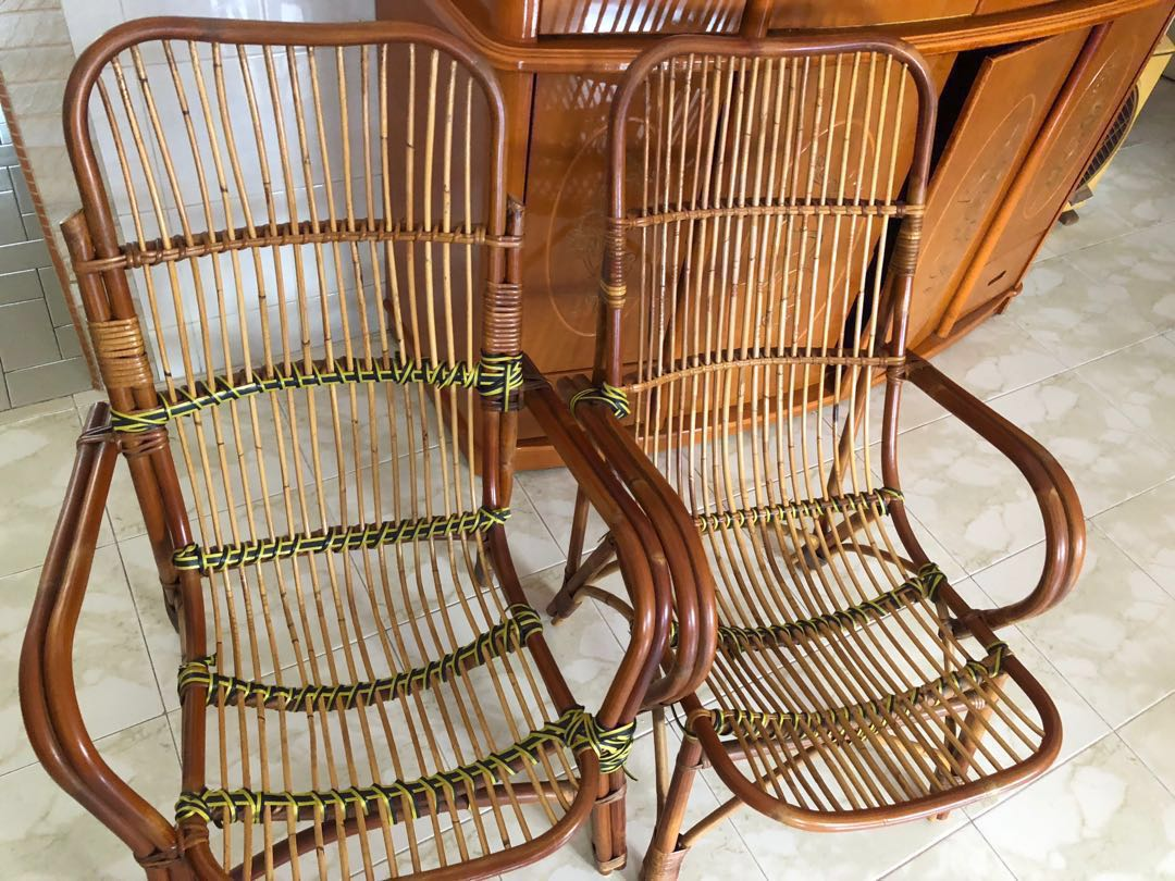Rattan Chairs Furniture Tables Chairs On Carousell