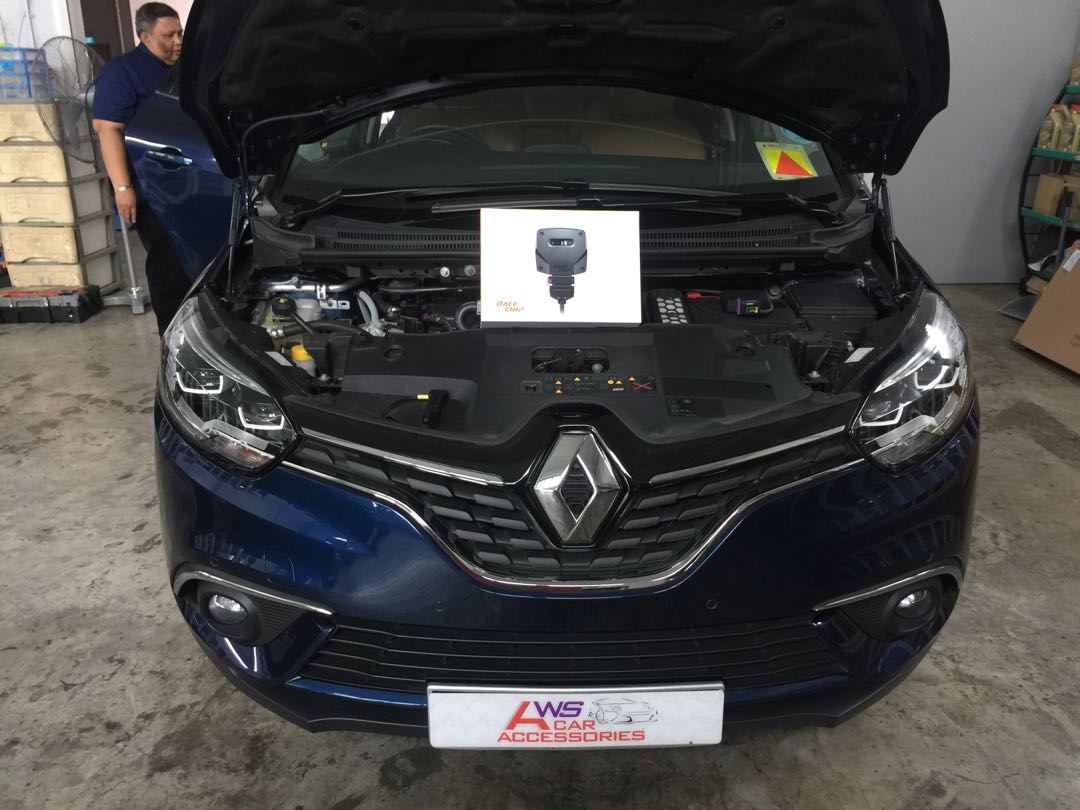 Renault Scenic👉2018 Installed Race Chip GTS Upgrade for
