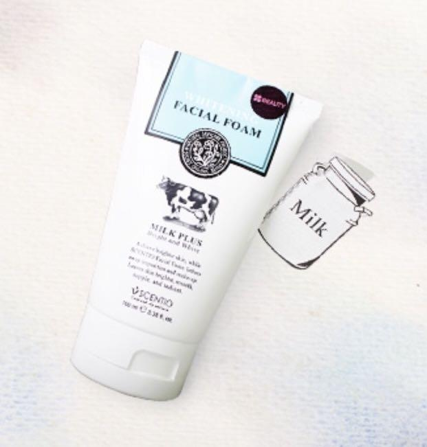 Scentio whitening facial foam