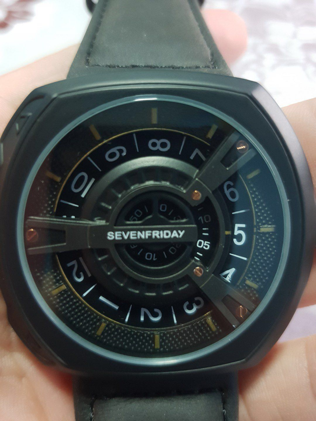 Sevenfriday Sf V2 01 8709 Mens Fashion Watches On Carousell P1b Silver