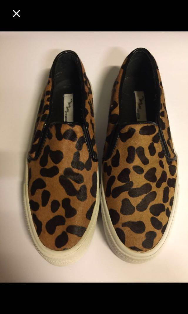 d250155b51b STEVE MADDEN ECCENTRIC LEOPARD PRINT PONY FUR FLATS-ALMOST NEW on ...