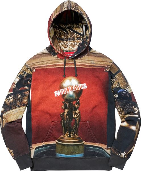 """Supreme """"The world is yours hoodie"""""""