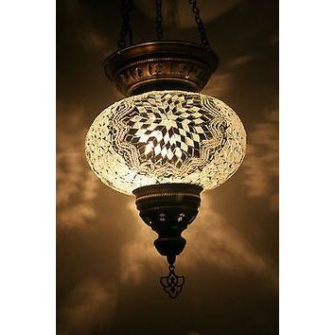 Turkish hanging lamp open top