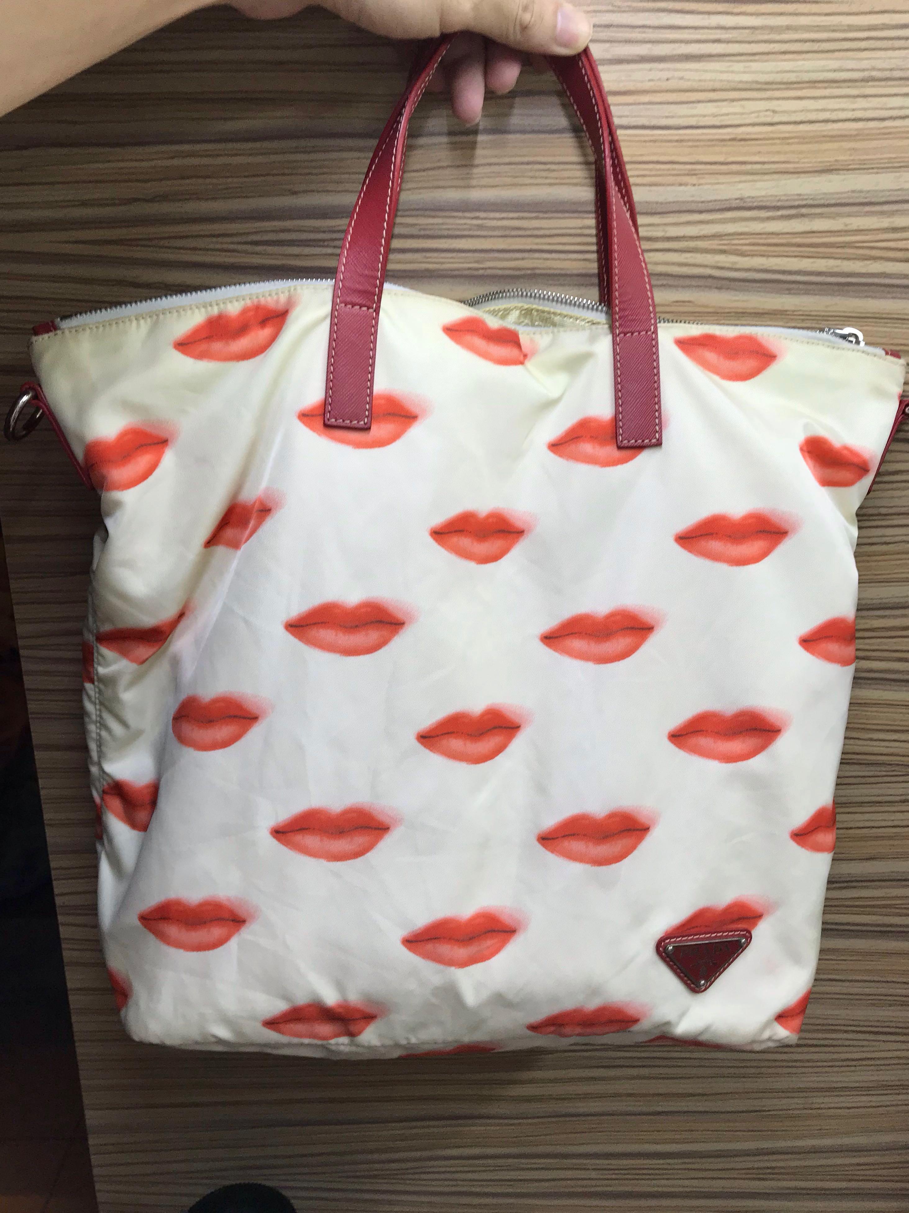 260e3d915d5fa7 Used Prada Tote Bag, Women's Fashion, Bags & Wallets, Handbags on ...