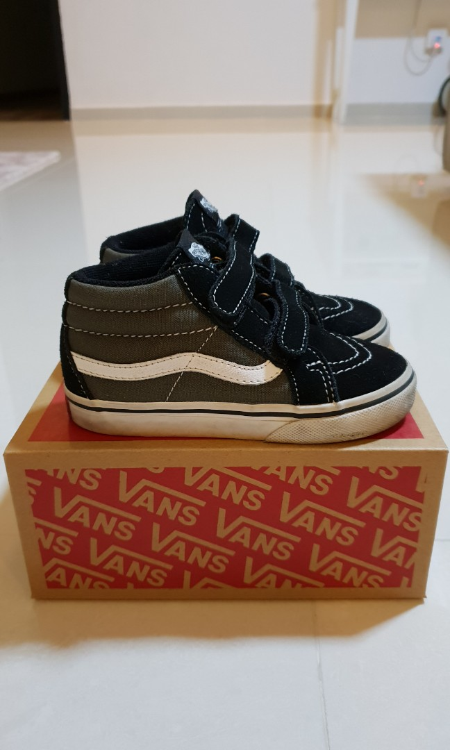 34a7a47a849bc8 Vans Mid-Cut Reissue Kids Shoes