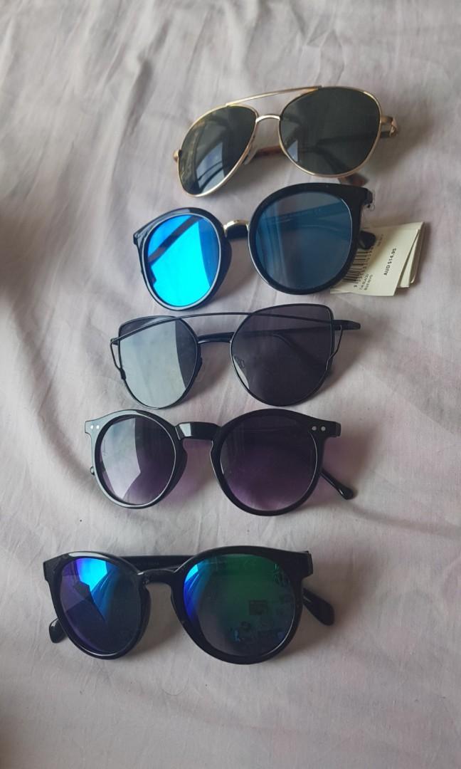 Clearance! Variety of sunnies sunglasses shades round glasses aviators bumblebee big sunglass festival summer boho bohemian