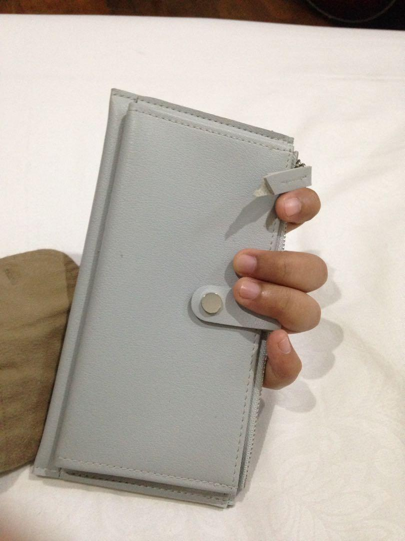 Wallet (warna biru telor asin)