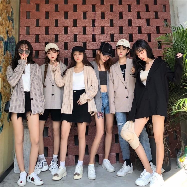 e0bb1ac93136 SALES) Women s Blazers Suit Jackets Outerwear Cardigan Korean ...