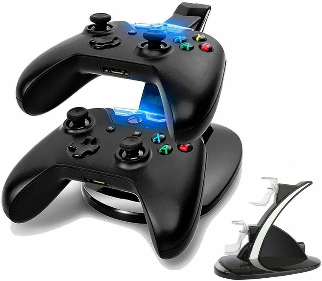 Xbox One Controller Charger, Megadream Dual USB Charging