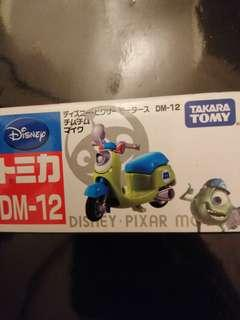 Tomica Tomy Disney DM-12三眼仔電單車小熊維尼