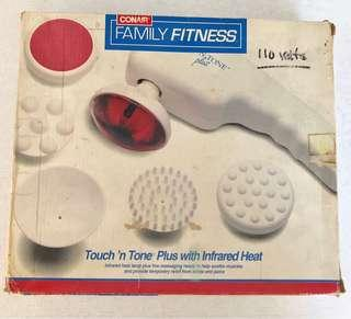 ConAir Family Fitness Touch N' Tone Plus Massager