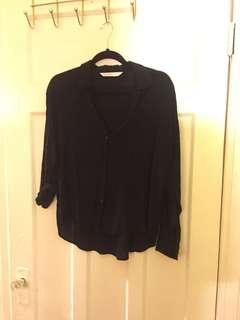 Zara Shirt with Polka Dots