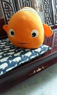 "28"" Orange Finding Nemo Fish #POST1111"