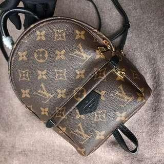 LV backpack palm springs mini