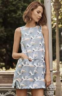 TCL the closet lover swan shift dress