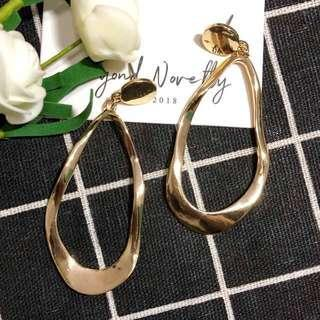 [SOLD OUT] Charlotte Gold Earrings