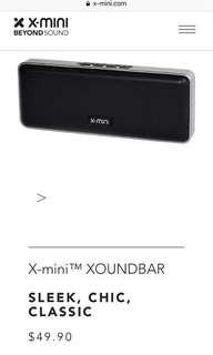 Bluetooth Speaker X-Mini soundbar