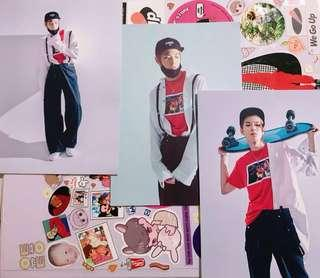 NCT U Doyoung Official Postcards