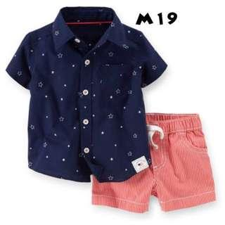 Carter's Shirt Top & Shorts Set - Boys