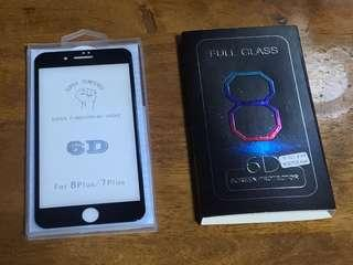 Iphone 7plus & Iphone 8plus iphone X tempered glass