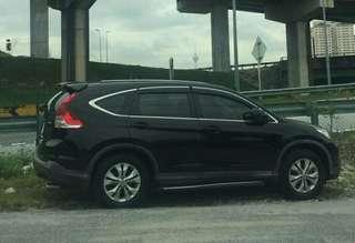 Sambung bayar Honda CRV