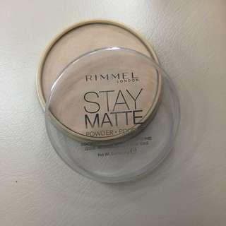 Rimmel  London Stay Matte Powder 005 Silky Beige 14g
