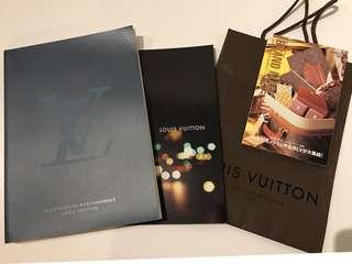 LV 2006 書,日本BRAND MALL MINI, LV catalog, LV 紙袋