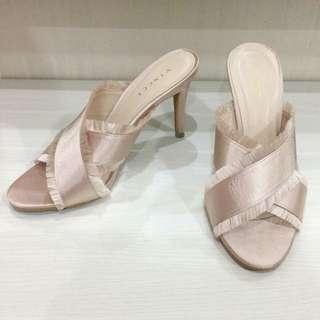 Vincci Champagne Heels Sandal / Heels Vincci