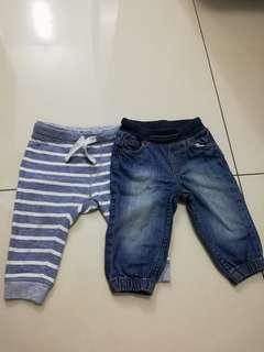 Baby boy bottoms 2 pieces