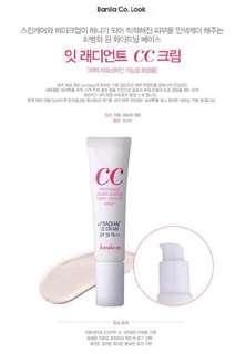 🚚 Banila.co CC whitening moisturizing color control base