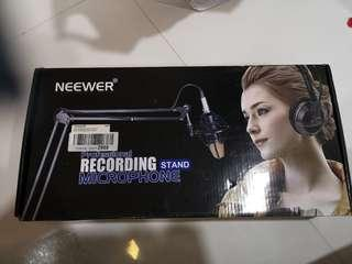 Microphone recording Stand