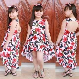 Sexy back dress Free size 6-10years old (one 1 size only) 300 👉looking for more active and loyal resellers 👉all in one shop 👉direct and legit supplier since 2012