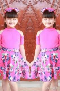 Trendy blouse & printed skirt for kids Free size 6-10years old (one 1 size only) 300 👉looking for more active and loyal resellers 👉all in one shop 👉direct and legit supplier since 2012