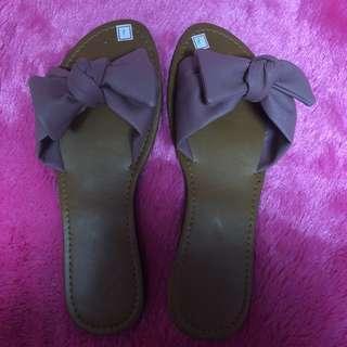 cute ribbon sandals