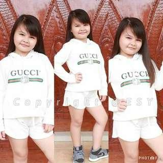 White branded inspired hoody terno Free size 6-10years old (one 1 size only) 300 👉looking for more active and loyal resellers 👉all in one shop 👉direct and legit supplier since 2012