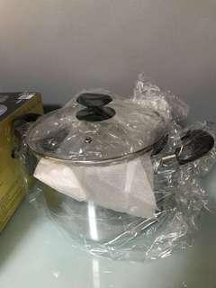 Masflex Stock Pot + Masflex Casserole