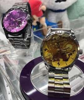 KOAOISORA 2018 Pokemon 寵物小精靈 ポケットモンスター Sun & Moon- Premium Crystal Cut Wrist Watch 比卡超 迷擬Q 手錶 (全新)