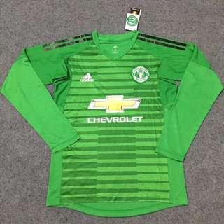 18/19 Manchester United Goalkeeper Long Sleeve Kits