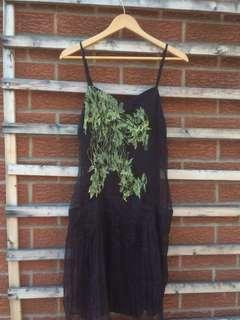Silk Diesel dress sz m