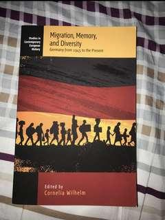 Migration, Memory, and Diversity Germany 1945 to the Present