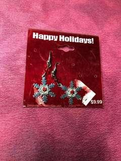 Holiday Earrings from KMart US with free 1 pair