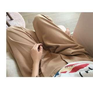 Light apricot color pants - suit pants
