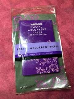 Nothin but FREE! Facial Absorbent Paper
