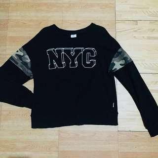 Black NYC Sweater
