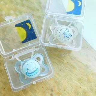 MAM Night Orthodontic Pacifier 0 M+ 2 pcs