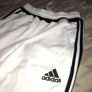 White Adidas Climacool Track Pant